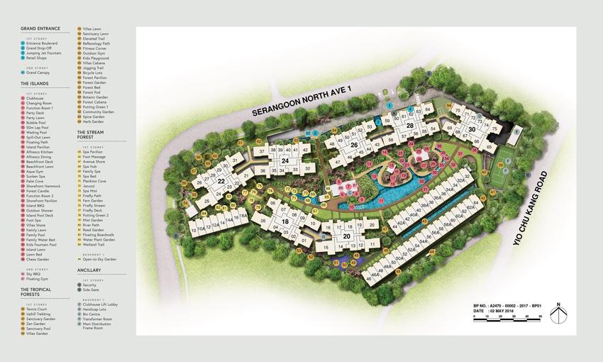 Affinity-At-Serangoon-Site-Map