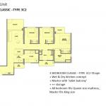 Park Colonial Floor Plan 3 Bedroom Classic