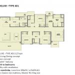 Park Colonial Floor Plan 4 Bedroom Luxury