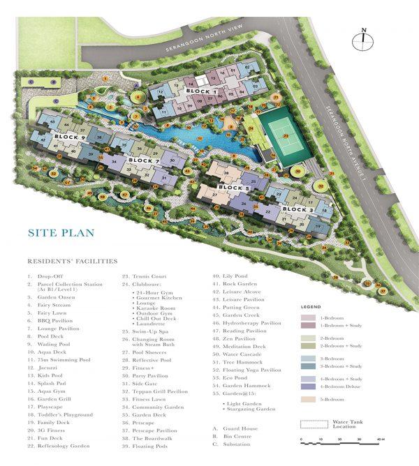 The-Garden-Residences-Site-Plan