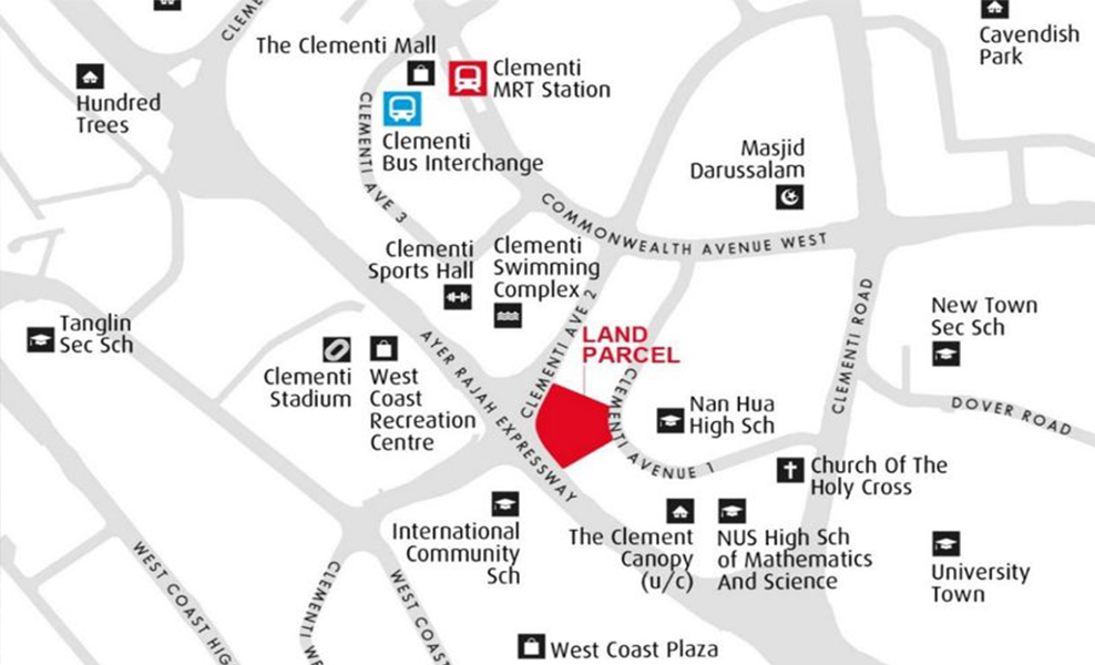clavon-condo-location-map-clementi-avenue-1-singapore