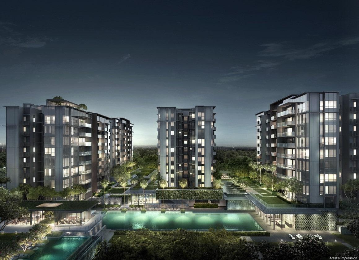 Forett-At-Bukit-Timah-Night-View-Singapore