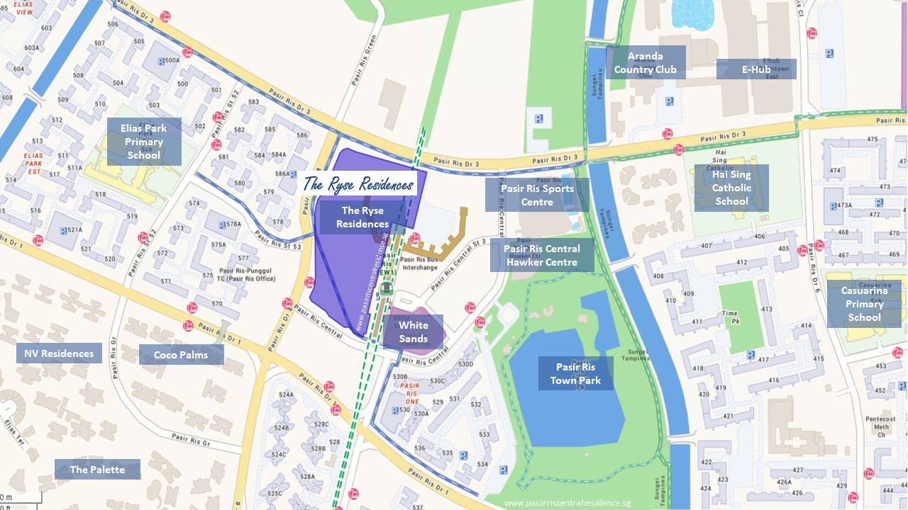 The-Ryse-Residences-Location-Map