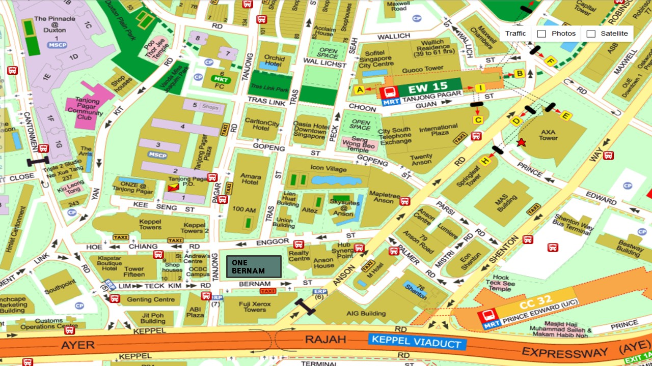 One-Bernam-location-singapore