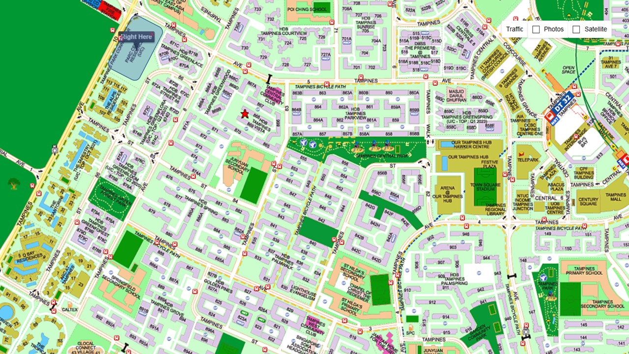 Parc-Centra -Residences-EC-Location-Map-Singapore