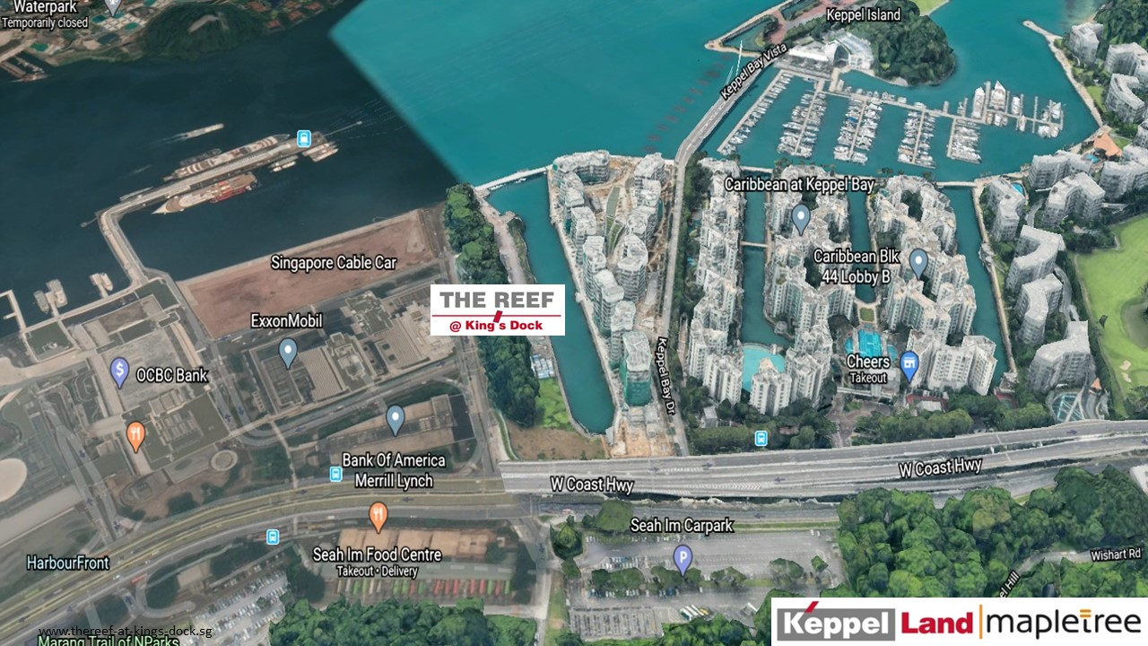 The-Reef-At-Kings-Dock-Singapore-Location-Map