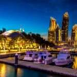 The-Reef-At-Kings-Dock-Singapore-night-view