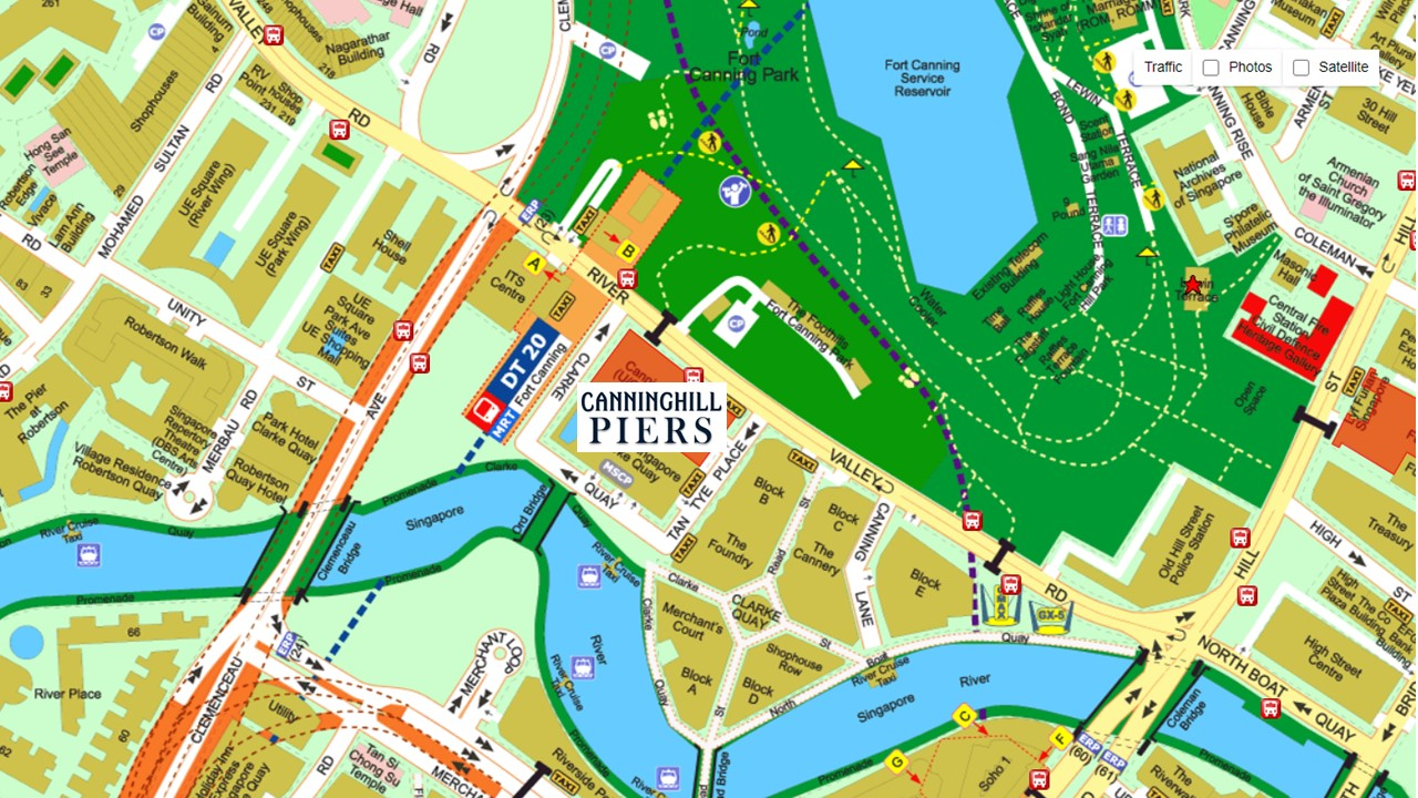 Canning-Hill-Piers-Location-Map